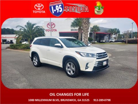 Pre-Owned 2019 Toyota Highlander HYBRID LIMITED PL